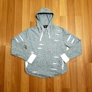 Other - Mens Lightweight Distressed Hoodie
